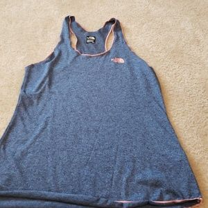 The North Face tank dri fit material GUC